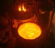 rzucony metal obraz stock