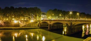 Rzym, anioła most Obraz Royalty Free