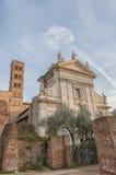 Rzym bazylika Di Santa Francesca Romana Fotografia Stock