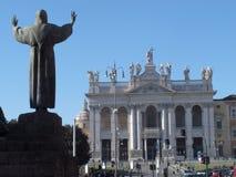 Rzym bazylika San Giovanni zdjęcia royalty free