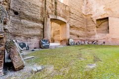 Rzym, Caracalla thermae - Fotografia Stock