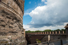 Rzym, Castel święty Angelo -, Włochy zdjęcie stock