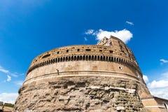 Rzym, Castel święty Angelo -, Włochy obrazy royalty free