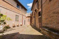 Rzym, Castel święty Angelo -, Włochy obraz stock
