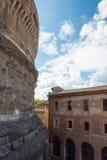 Rzym, Castel święty Angelo -, Włochy zdjęcia stock