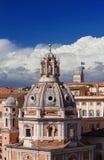 Rzym centrum linia horyzontu Zdjęcie Royalty Free