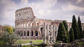 Rzym, Colosseum ruiny zabytek zdjęcia royalty free