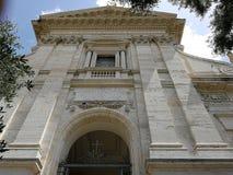 Rzym - fasada Santa Francesca Romana Zdjęcia Royalty Free