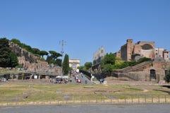 Rzym forum Zdjęcie Stock