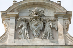 Rzym, Janiculum - Obraz Royalty Free