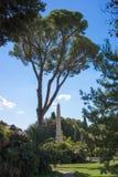 Rzym - Jeden obeliski willa Torlonia fotografia royalty free