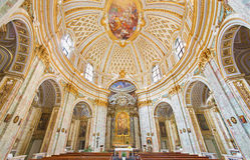Rzym - kościelny Chiesa della Santissima Trinita degli Spanoli Zdjęcia Royalty Free