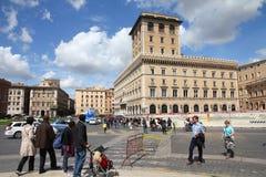 Piazza Venezia, Rzym Obrazy Royalty Free