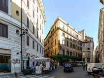 Rzym, Lazio, Włochy Lipiec 25, 2017: Główny plac dzwoniący Fotografia Stock