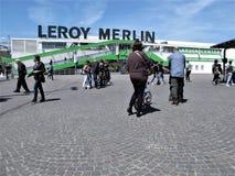 Rzym Leroy Merlin sklep obrazy stock