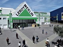 Rzym Leroy Merlin sklep zdjęcie stock