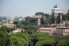 Rzym linia horyzontu Obraz Stock