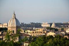 Rzym linia horyzontu Zdjęcie Stock