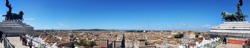Rzym Linia horyzontu, Włochy Obraz Stock