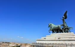 Rzym Linia horyzontu, Włochy Zdjęcie Stock