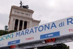 23 ^ Rzym maraton 2017 Obrazy Royalty Free