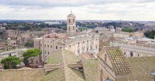 Rzym miasta linia horyzontu Obraz Royalty Free