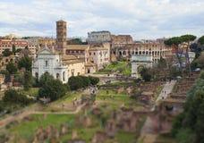 Rzym miasta widok, Włochy Fotografia Royalty Free