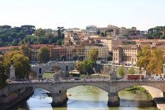 Rzym mosty Zdjęcia Royalty Free