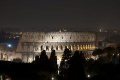 Rzym nocą obraz royalty free