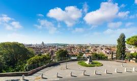 Rzym panoramiczny widok obraz royalty free