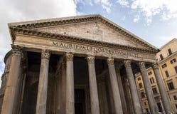 Rzym panteon Obraz Royalty Free