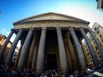 Rzym panteon fotografia royalty free