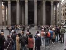 Rzym panteon obrazy stock