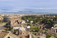 Rzym pejzaż miejski, Włochy Obraz Stock