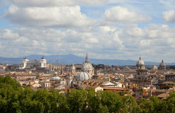 Rzym piękna linia horyzontu Obraz Stock