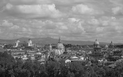 Rzym piękna linia horyzontu Obrazy Royalty Free