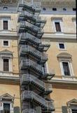 Rzym pożarnicza ucieczka Obrazy Stock