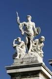 Rzym posągiem pomnikowy emmanuela victor Fotografia Royalty Free