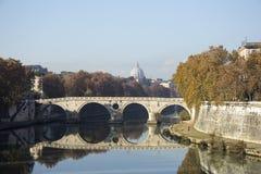 Rzym rzeka zdjęcie royalty free