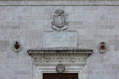 Rzym, San Pietro w Montorio, romańszczyzna kościół w Janiculum wzgórzu obraz stock