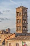 Rzym Santa Francesca Romana Obraz Royalty Free