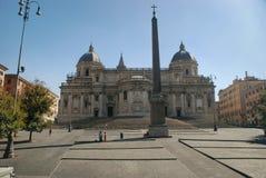 Rzym Santa Maria Maggiore, Włochy zdjęcie royalty free