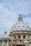 Rzym, St. Peter bazylika Zdjęcie Stock