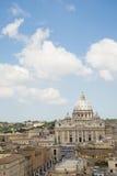 Rzym, St. Peter bazylika Obraz Royalty Free