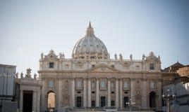 Rzym. St. Peter bazylika Zdjęcia Stock