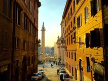 rzym street Obrazy Stock