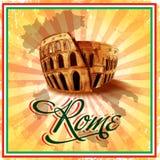 Rzym sztandar Royalty Ilustracja