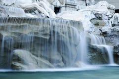 Rzym: Trevi fontanna Obrazy Stock