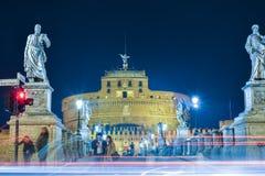 Rzym WŁOCHY, CZERWIEC, - 01: Castel Santangelo w Rzym, Włochy na Czerwu 01, 2016 Zdjęcia Royalty Free