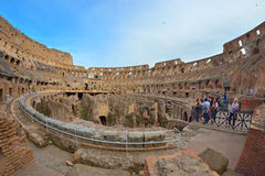 Rzym WŁOCHY, CZERWIEC, - 01: Colosseum w Rzym, Włochy na Czerwu 01, 2016 Zdjęcie Stock